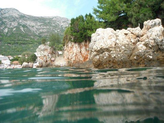 Gradac, Kroatië: rocks