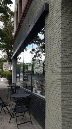 แวนคูเวอร์, วอชิงตัน: Outside street seating