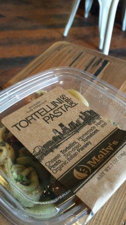 แวนคูเวอร์, วอชิงตัน: Take-away pasta salad.