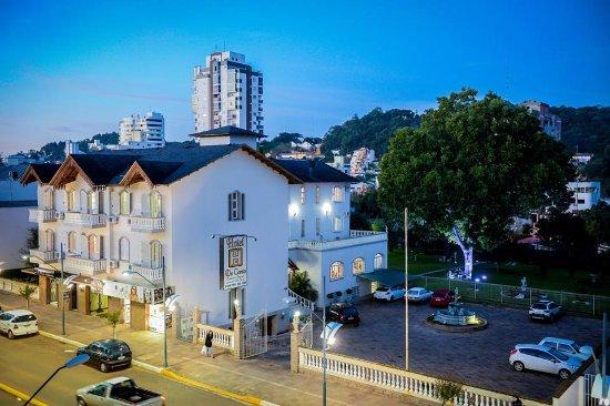 Marau, RS: Vista exterior do Hotel De Conto