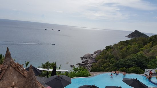 Aminjirah Resort: Our view from the room