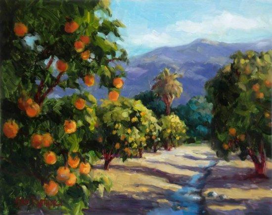 Ojai, Калифорния: Erin Dertner, artist