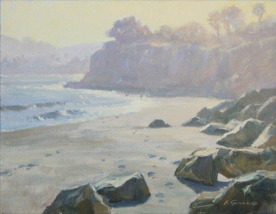 Ojai, Калифорния: Frank Serrano, artist