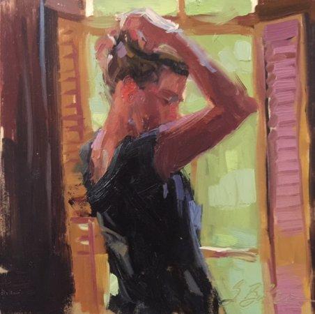 Ojai, Калифорния: Suzie Baker, artist