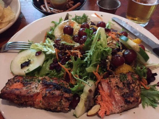 New London, NH: Salmon Salad