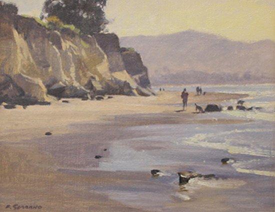 Ojai, Kalifornien: Frank Serrano, artist