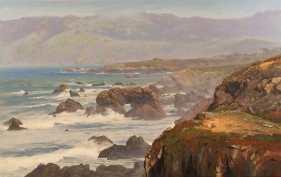 Ojai, Kalifornien: Richard Schloss, artist