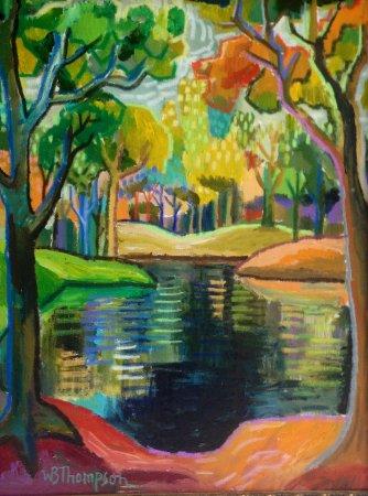 Ojai, Kalifornien: WB Thompson, artist