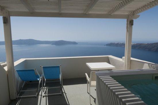 Andromeda Villas: VIP suite view.