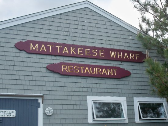 Mattakeese Wharf: Front Signage