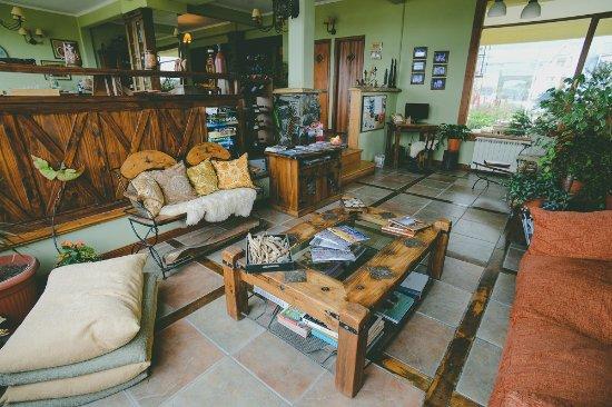 Tierra de Leyendas Boutique Hotel : Living Area
