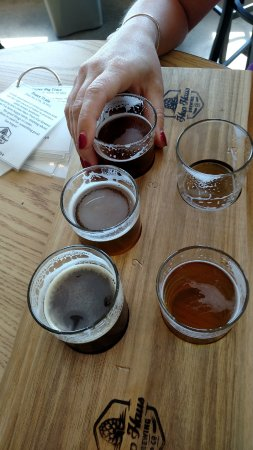 Verona, WI: Fantatic flight of beers!!!!!