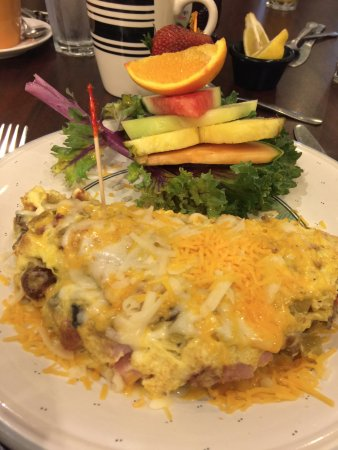 House Special Omelette With Fruit Picture Of Fresno Breakfast