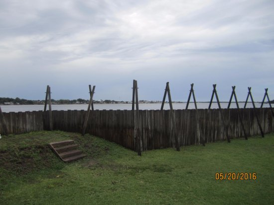 Fort Caroline National Memorial : Fort Caroline in Florida. A lot of history there but not much to see.