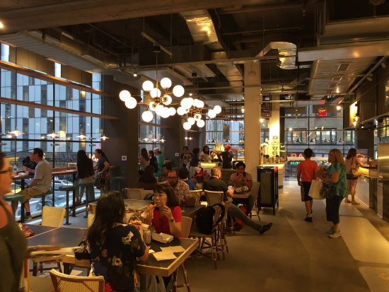 broadway gourmet food market new york city soho restaurant