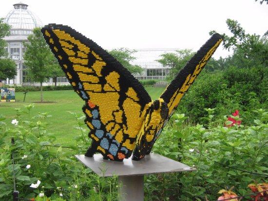 Merveilleux Lewis Ginter Botanical Garden: Lego Sculpture On Display At Ginter Botanical  Gardens In Glen Allen