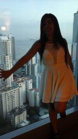 Hotel Riu Plaza Panama: la vista centrica del hotel