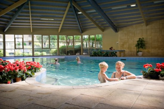 Indoor Heated Swimming Pool Picture of Abbey Beach Resort