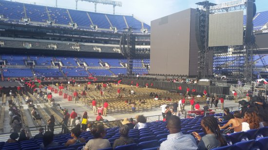 M&T Bank Stadium : view from seats