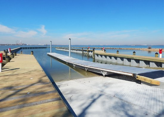 Fort Smallwood Park : Brand New Boat Launch at Ft Smallwood- 2016