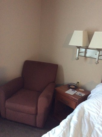 Candlewood Suites Indianapolis Northwest : Chair in room