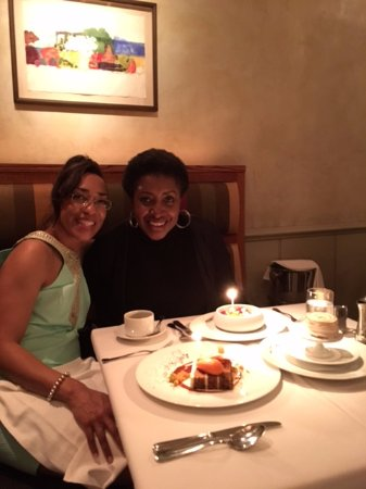 Gramercy Tavern: Me and my cousin celebrating our birthdays!