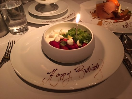 Gramercy Tavern: My birthday dessert!