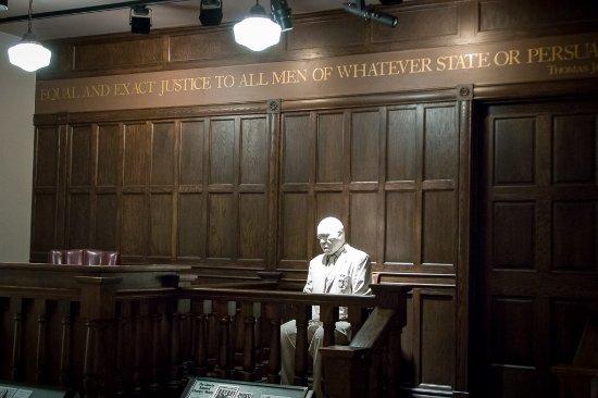 Birmingham Civil Rights Institute: court exhibit