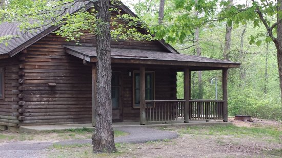 Beautiful Parvin State Park: Cabins At Parvin Park