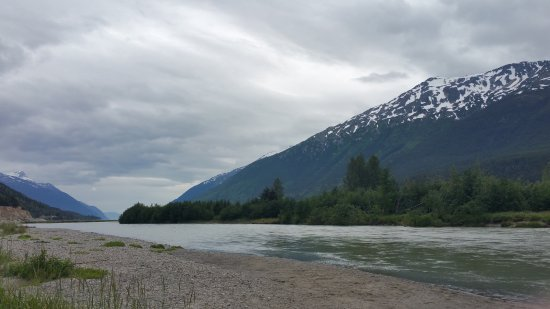 Skagway Float Tours: Idea of how the river looks. Very mild but very scenic
