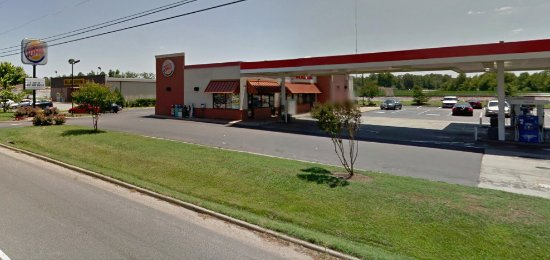 Windsor, VA: Burger King from Rt 460