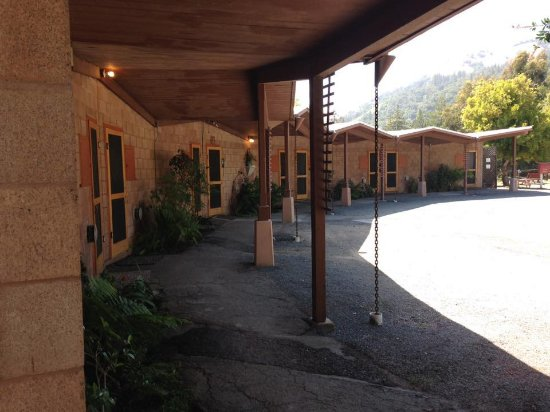 New Camaldoli Hermitage: View of the rooms.