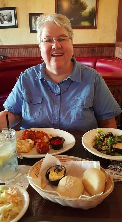 The Wellsboro House: My dining part and dear friend, Dot.