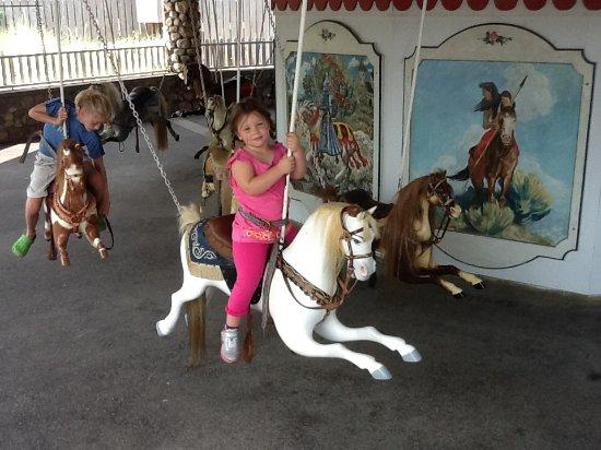Flying Horse Carousel: Flying horse