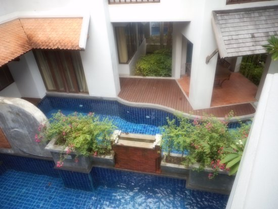 Royal Muang Samui Villas: 1st floor private pools