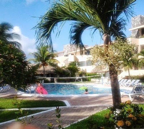 The pool at Coral Mar.