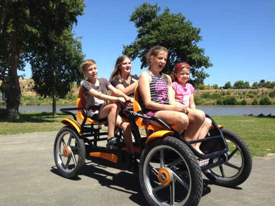 Whanganui, Yeni Zelanda: Fun Trikes