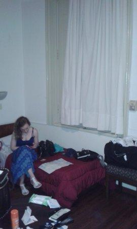 Hotel Casablanca: Limpia, camas confortables para un buen descanso.
