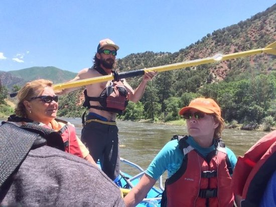 Glenwood Canyon Rafting, Inc.: Our guide Jeremy