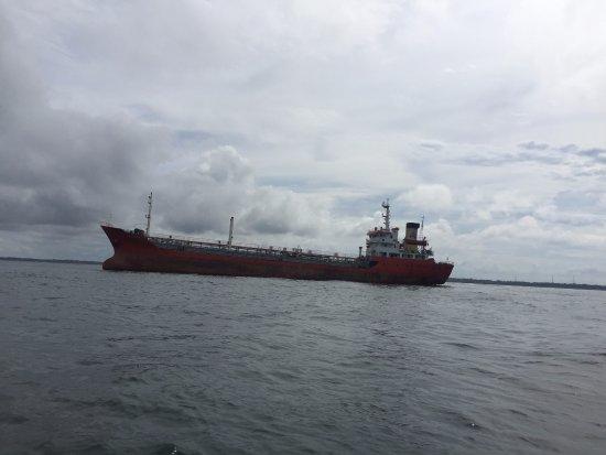 Penajam, อินโดนีเซีย: Meneyberang ke Panajem Utara