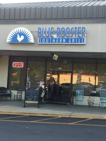 Clyde, Carolina do Norte: Blue Rooster Southern Grill