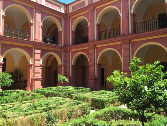 Monasterio de San Francisco: One of the Court Yards of the hotel