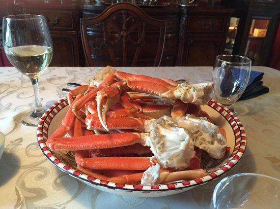 The Spaniard's Room: Dinner! Yum.