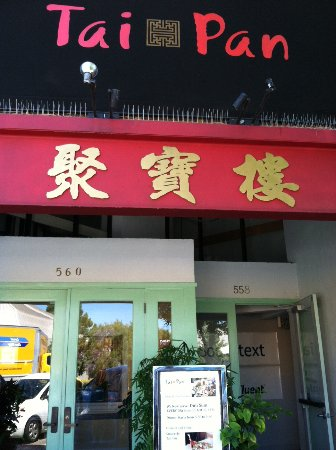 Tai Pan: Exterior of restaurant