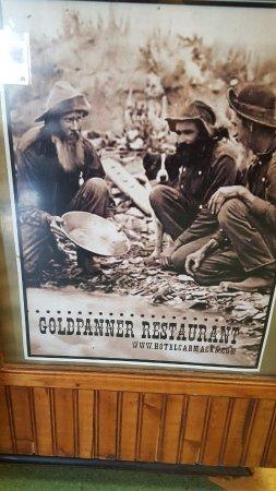 Carmacks, Canadá: Restaurant cover
