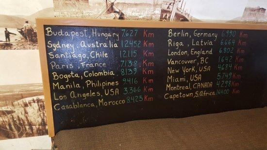 Carmacks, Canadá: Guest distances - 1
