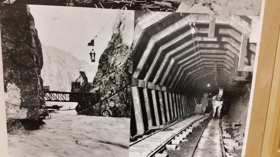Buffalo Bill Dam: Building of the dam