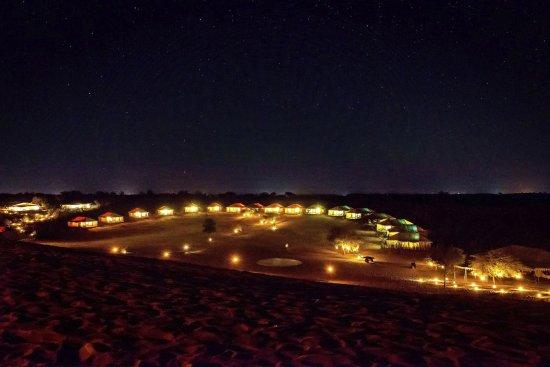 Dechu India  City pictures : Dechu, India: the desert night