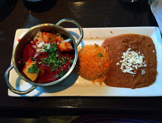 Winter Springs, فلوريدا: Steak in guajillo sauce cazuela