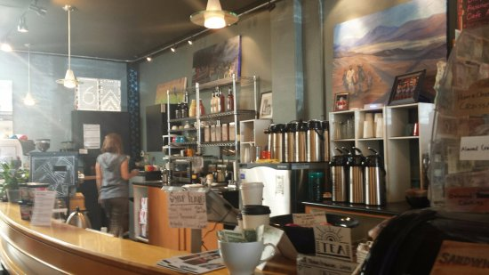 Calvin Fletchers Coffee Co.: Lots of coffee and drink choices